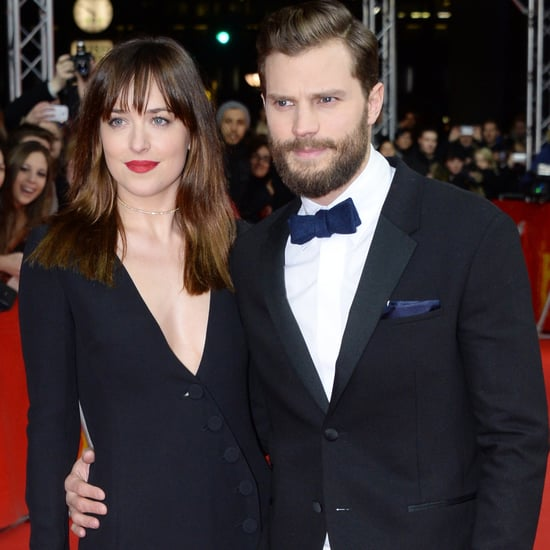 Jamie Dornan and Dakota Johnson Fifty Shades Premiere Photos