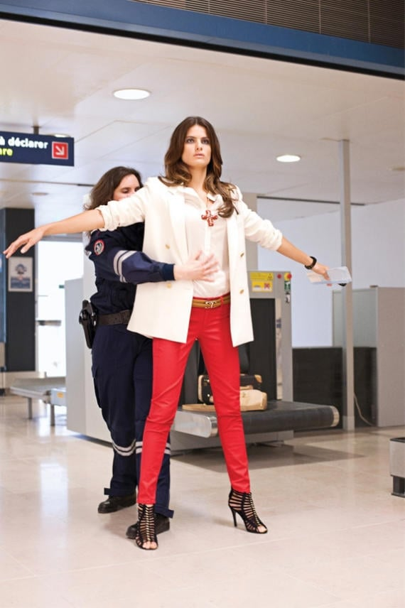 Mango Spring Lookbook Featuring Isabeli Fontana and Shot by Terry Richardson