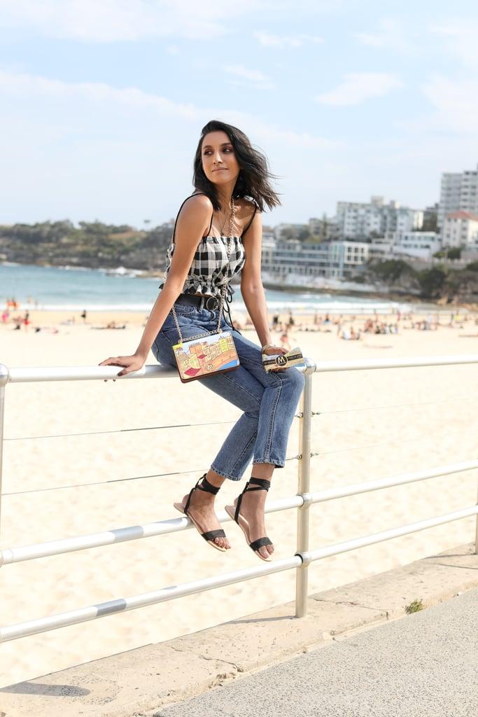 Vydia Rishie wearing Bec & Bridge