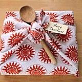 Tea Towel Gift Wrap