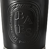 Diptyque Baies candle ($90-$295), with notes of rose and black currant.