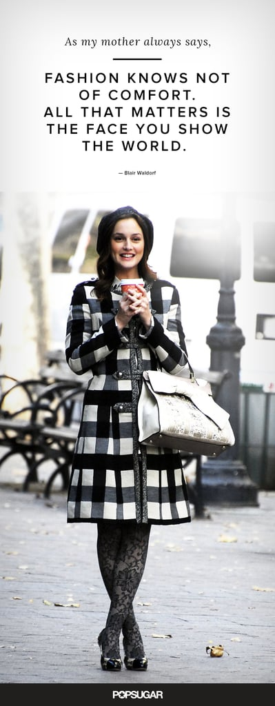Blair Waldorf Quotes Shopping Images Galleries With A Bite