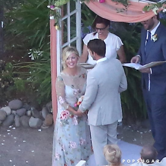Jennie Garth and Dave Abrams Wedding Pictures