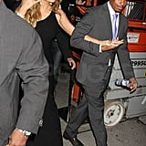 Mariah Carey ventured out with Nick Cannon.