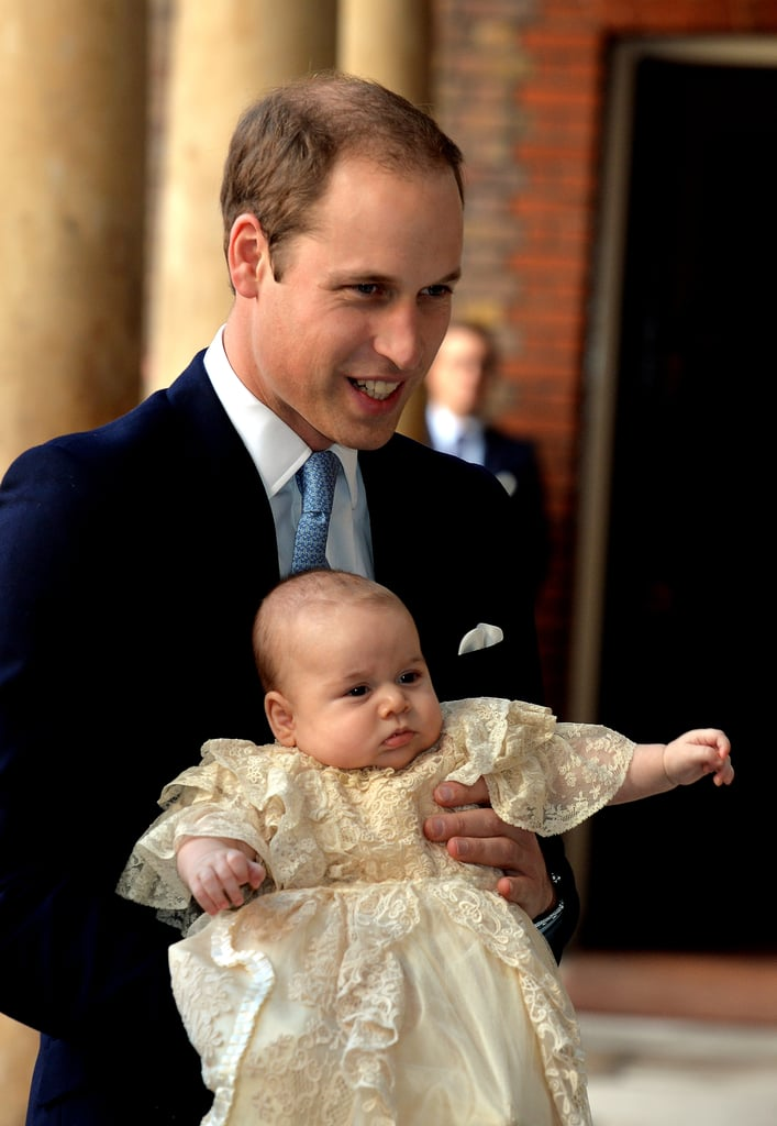 When He Showed Off George at His Christening