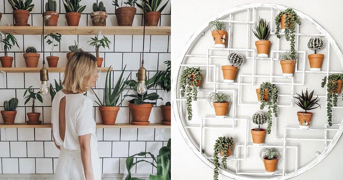 Plant Wall Ideas Popsugar Home