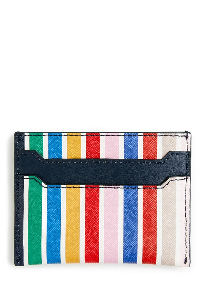 J. Crew Stripe Card Case