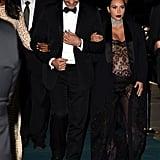 Riccardo Tisci and Kim Kardashian