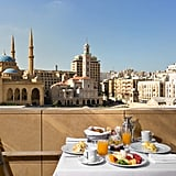 Breakfast is a glorious affair with beautiful views over the city from the Indigo on the Roof restaurant whcih serves up Mediterranean-inspired dishes.