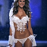 Alessandra Ambrosio walked in the Victoria's Secret fashion show in Hollywood in November 2006.