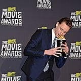Tom tried to eat his MTV Movie Award.