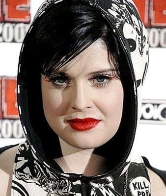 Kelly Osbourne's Red Eyeliner