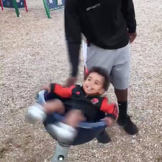 Chris Rainey's Viral Video of His Son Getting Dizzy