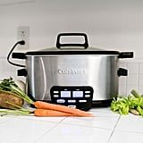 Cook anything in a slow cooker with the appropriate time conversions.