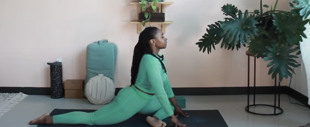 30-Minute Affirmation Yoga Flow For Hips by Abiola Akanni