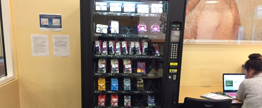 This California University Has a Vending Machine For the Morning After Pill
