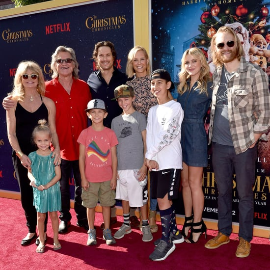 Kurt Russell's Family at The Christmas Chronicles Premiere