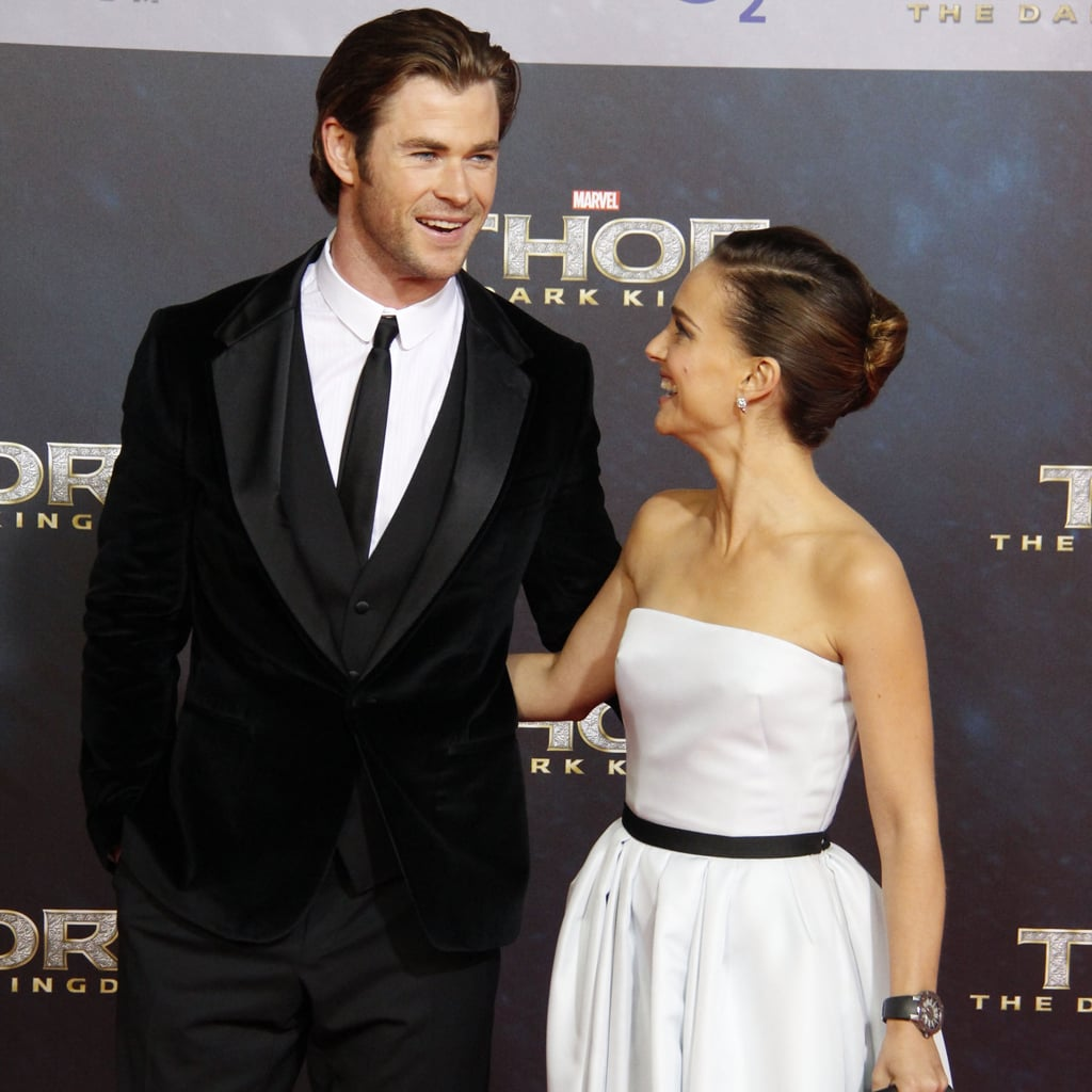 All the Times Chris Hemsworth Was a Girl's Best Accessory