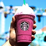 Boysenberry Frappuccino at Gourmet Coffee Hut