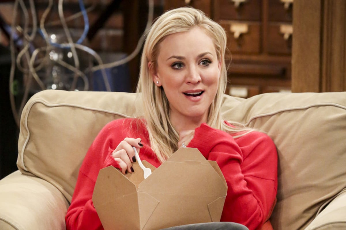 Kaley Cuoco Just Has 1 Tiny Request For The Big Bang Theory's Series Finale