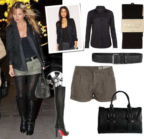 Photo of Kate Moss in Paris for Her 37th Birthday