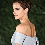 Emma Watson's Magical Plait Features a Secret Beauty and the Beast Symbol