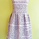 This Harry Potter prom dress ($278) — which, really, you could wear any day — is already sold out. But! The good news is the Etsy user says she will make two more and you can custom order it.