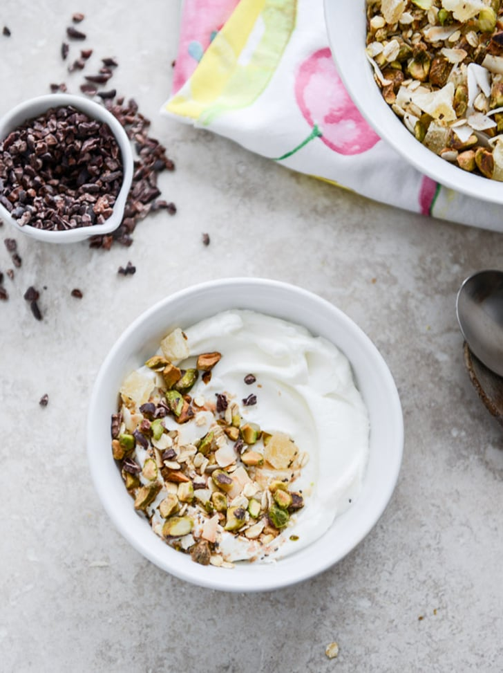 Toasted Pistachio and Pineapple Muesli
