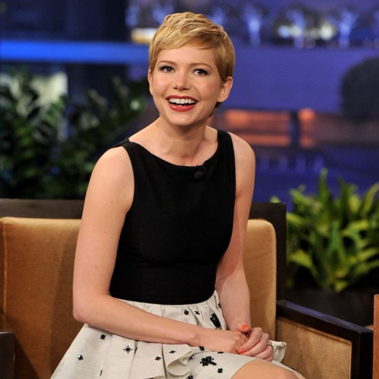 Michelle Williams Tonight Show Pictures