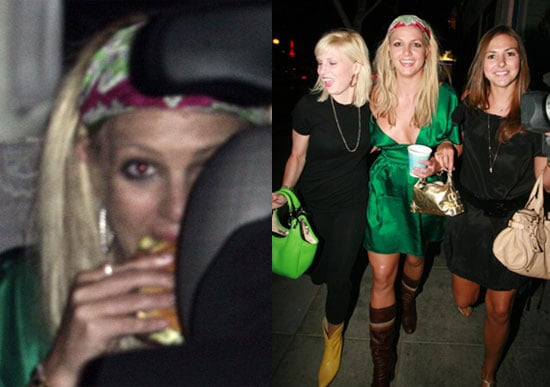 Britney Back To Late Nights, Burger Runs