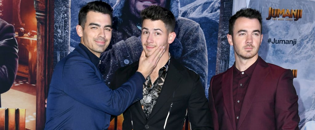 Jonas Brothers at Jumanji: The Next Level Premiere Pictures