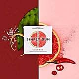 Simply Gum Natural, Vegan Chewing Gum, Cleanse With Grapefruit, Prickly Pear, and Cayenne