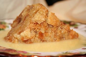 Celebrate Love With White Chocolate Bread Pudding