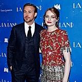 Ryan Gosling and Emma Stone La La Land Paris Premiere 2017