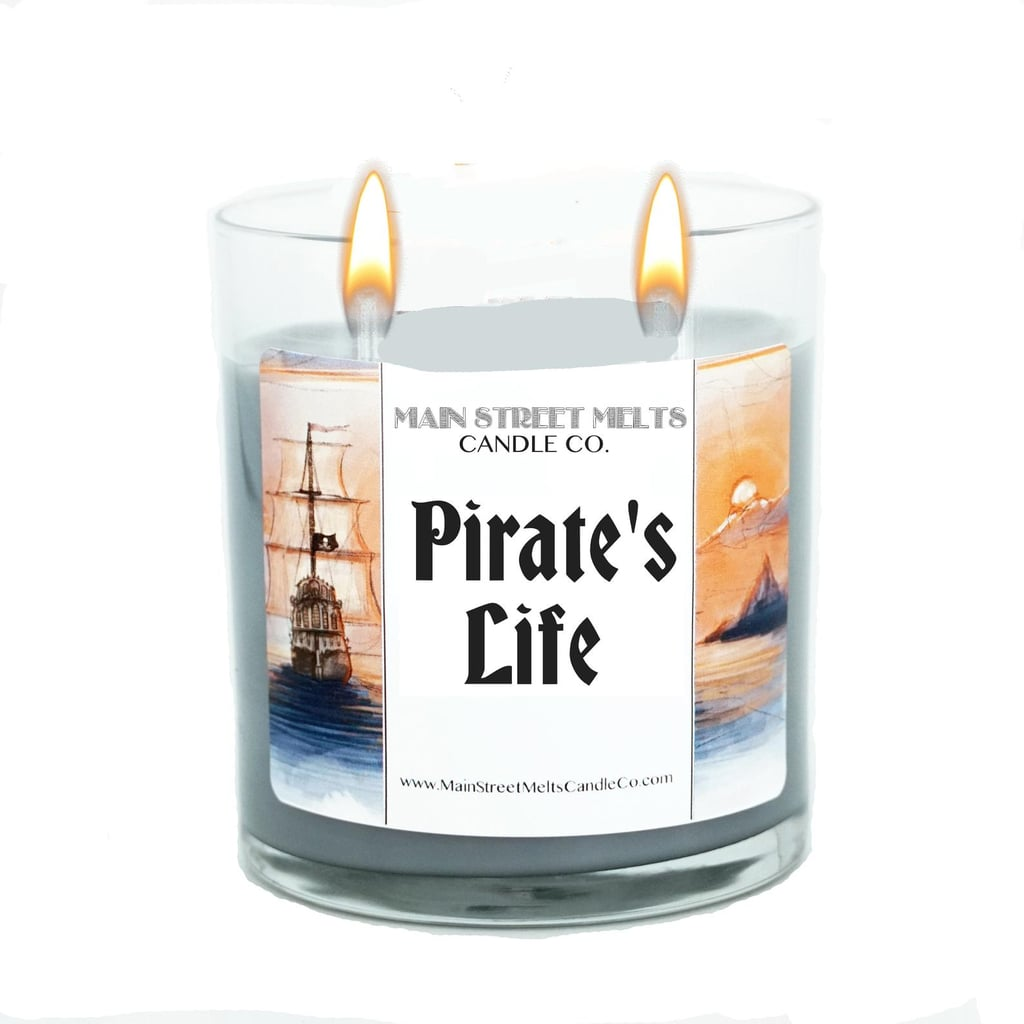 Pirate's Life Disney Candle