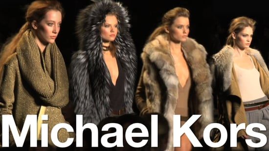 Michael Kors Fall Collection at NY Fashion Week: What's Fab First Look