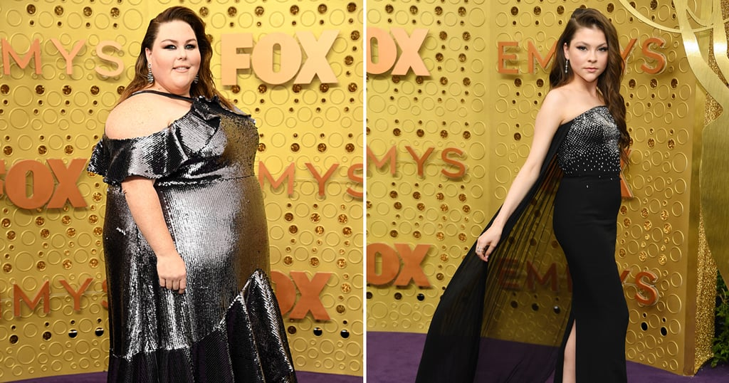 Chrissy Metz and Hannah Zeile Twinning at the Emmys