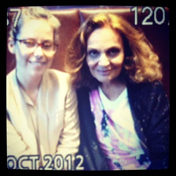 Eep! It's Ali with the inspiring and ingenious Diane von Furstenberg.