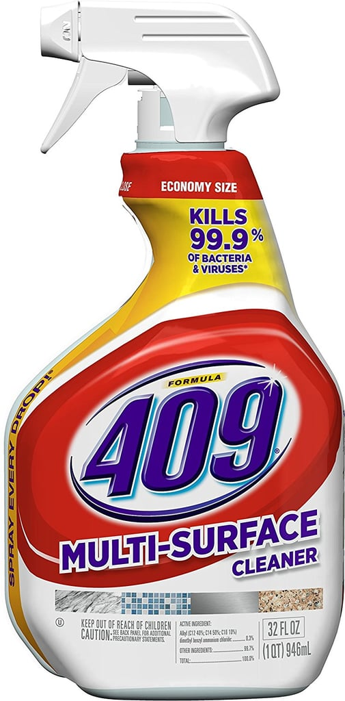 This 409 Multi-Surface Cleaner ($3) is your strong-arm against dirt, grime, grease, and bacteria. And it also deodorizes. There's pretty much nothing this multisurface powerhouse doesn't do.