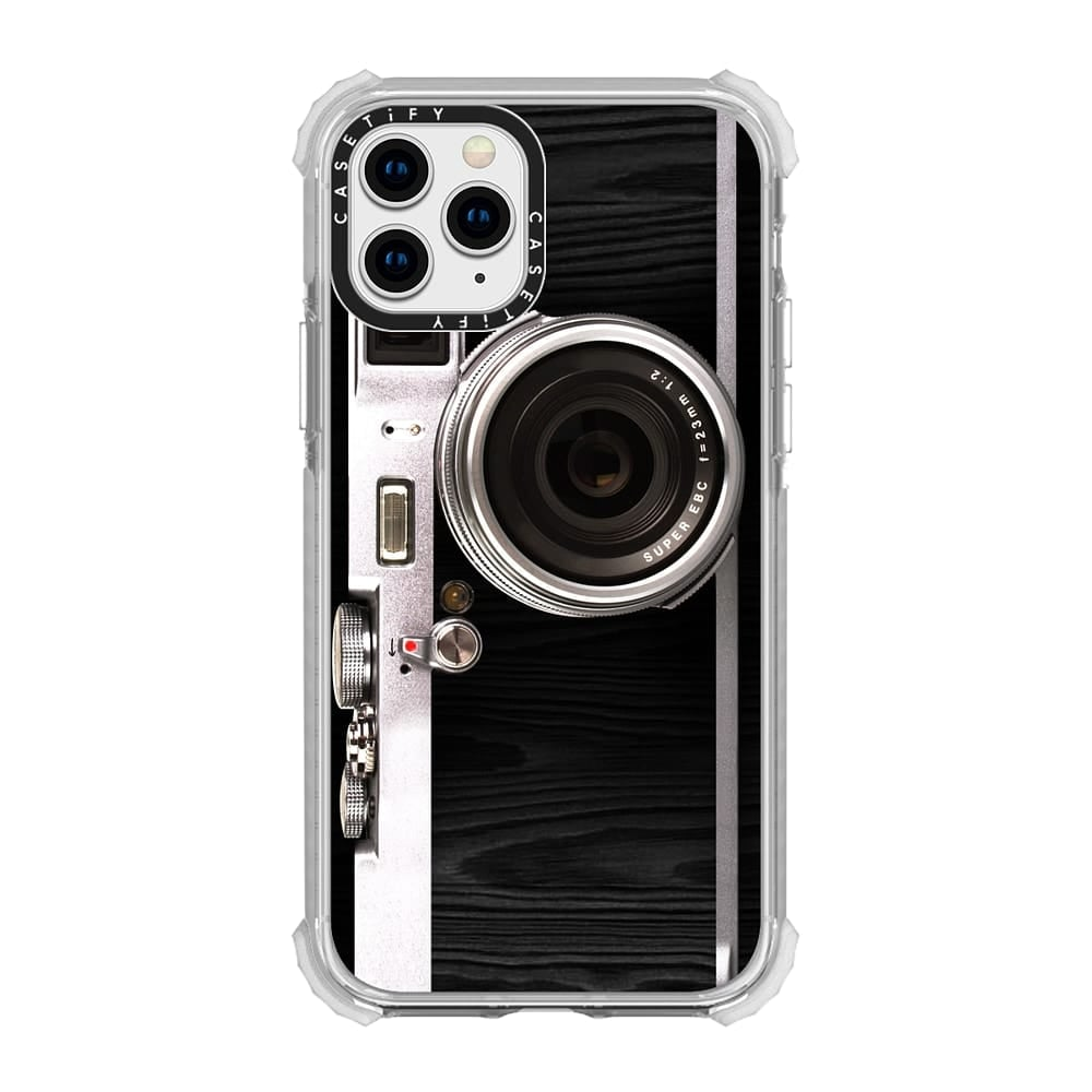 Yagerod New Emily in Paris Phone Case Vintage Camera,Modern 3D Vintage Style Camera Design Silicone Cover with Long Strap Rope Compatible for iPhone 11 PRO MAX//X//XS//MAX Black X//XS