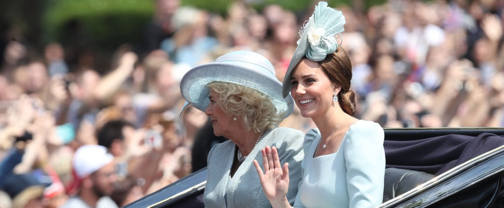 Kate Middleton at Trooping the Colour 2018