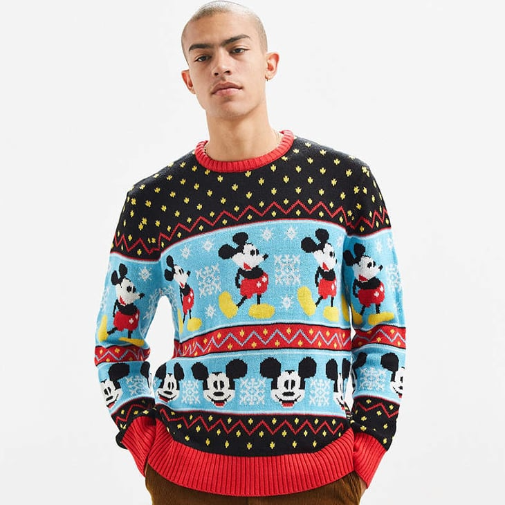 mickey mouse fair isle sweater - Mickey Mouse Christmas Sweater