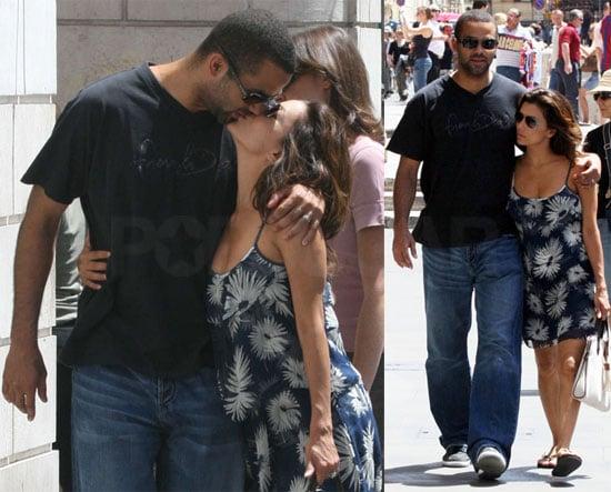 Photos of Eva Longoria and Tony Parker Enjoying a Romantic Vacation in Rome