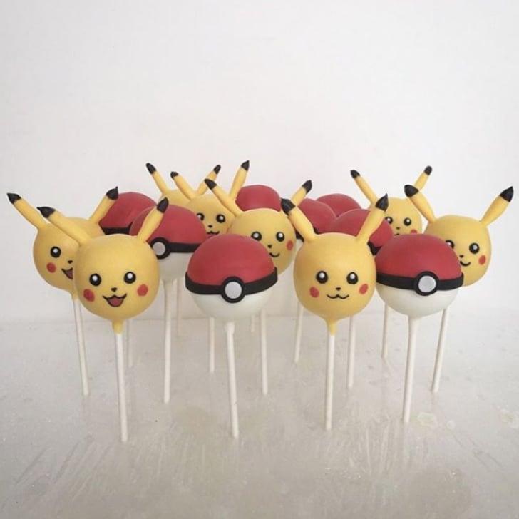 pokemon cake pops for kids popsugar family