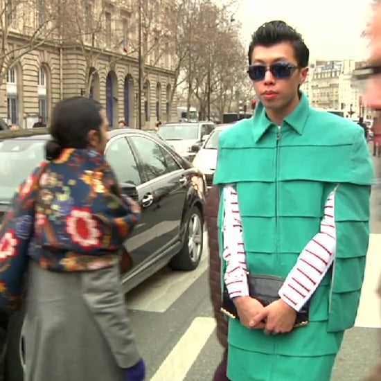 Paris Fashion Week Street Style (Video)