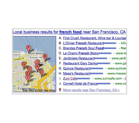 Google Goes Local With Search Results
