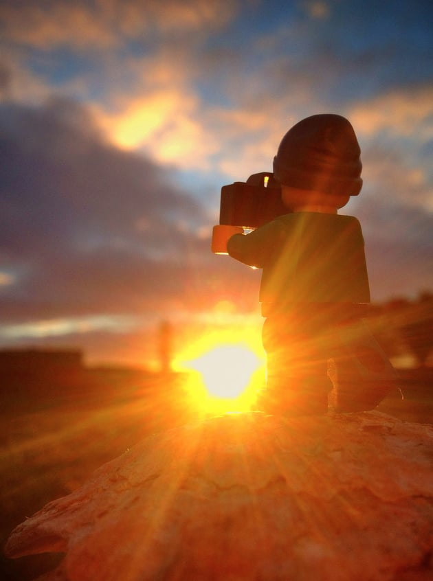 The Big Adventures of a Little Lego Man
