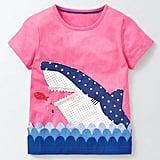 Boden Aquatic Appliqué T-Shirt
