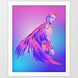 A Technicolor Superman Print