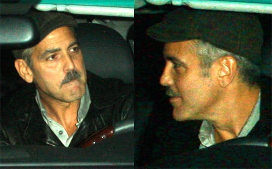 Photos of George Clooney at Dan Tana's Restaurant in LA, Recently Spoke Out About Proposition 8